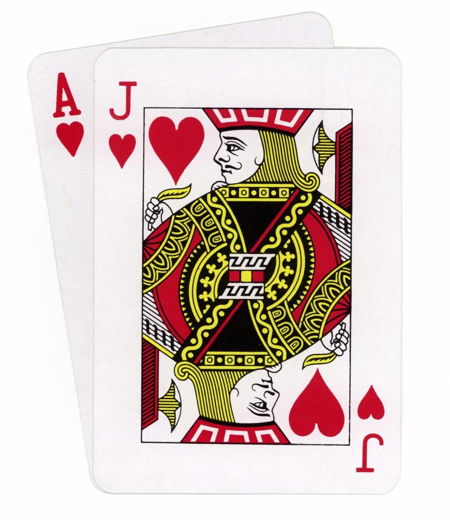 Etapes pour jouer au Blackjack