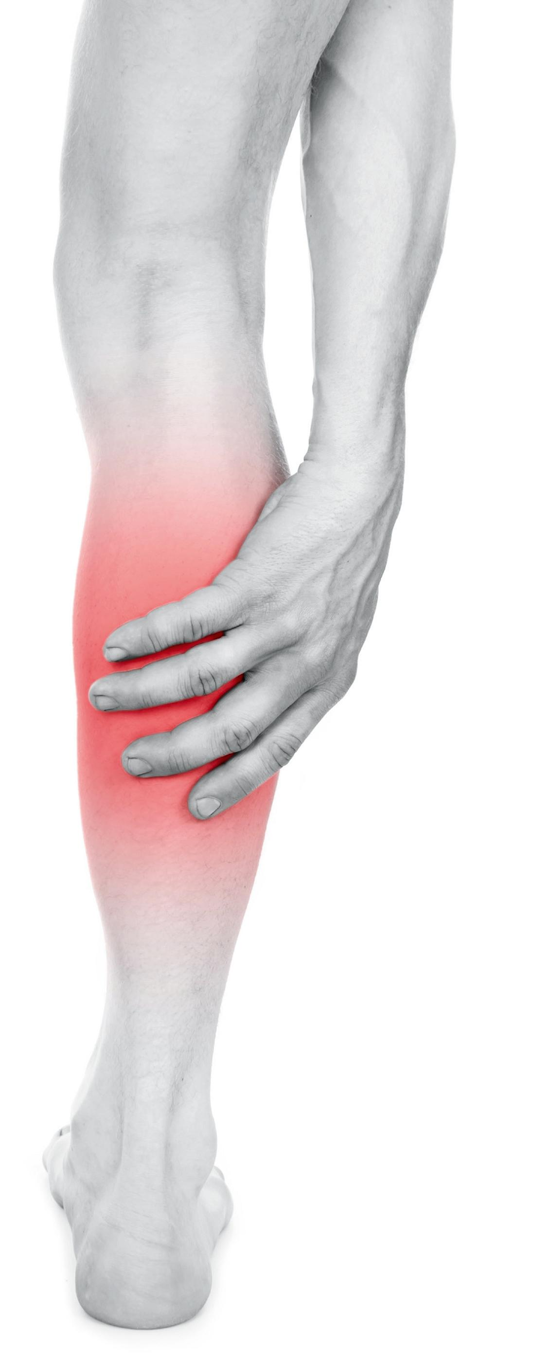 Quand apparaît une douleur au mollet?
